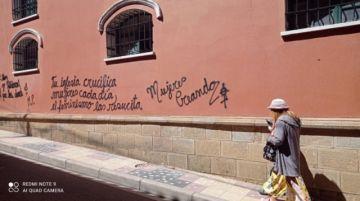 Sancionarán a responsables de grafitis en edificios patrimoniales