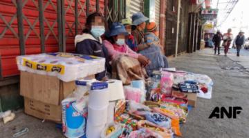 El Alto: Leticia, paciente con cáncer y mamá de cuatro niños recibe la solidaridad de los bolivianos