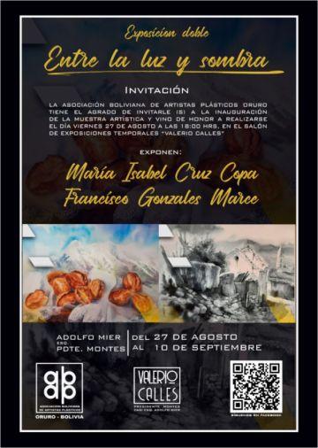 Potosinos exponen su arte en galería de Oruro