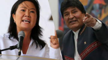 Keiko Fujimori se solidariza con Jeanine Áñez y Evo Morales reacciona
