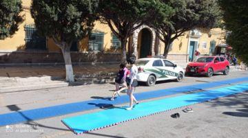 Potosí vive con diferentes actividades el Día del Peatón y el Ciclista