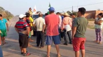 Interculturales confrontan a marchistas indígenas y tratan de impedir su paso hacia Santa Cruz