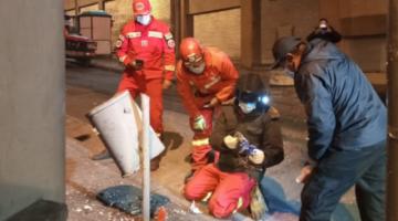 Estalla un artefacto explosivo en cercanías de la Alcaldía de La Paz