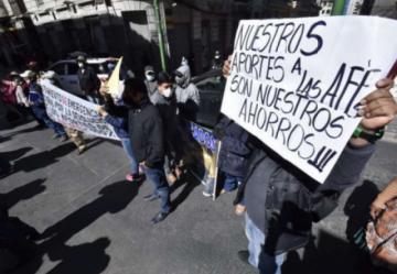 Aportantes advierten con protestas si Presidente Arce incumple promulgación de ley