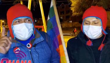 Piden desarticular el autodenominado 'ejército guerrero' que amenaza quemar la casa de Carvajal