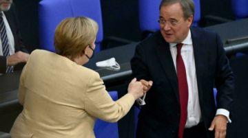 Merkel en campaña para intentar salvar a los conservadores de una debacle electoral