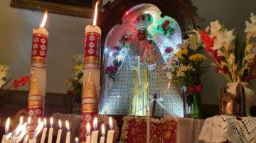 La Virgen de Guadalupe es entronizada nuevamente hoy