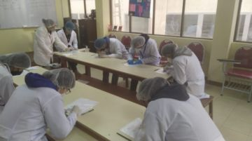 Califican de positivo primer mes de clases en aulas en Medicina