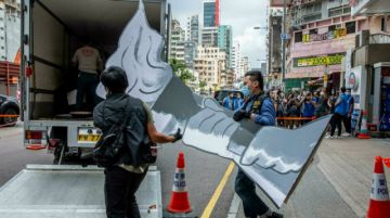 Policía de Hong Kong allana museo sobre Tiananmen