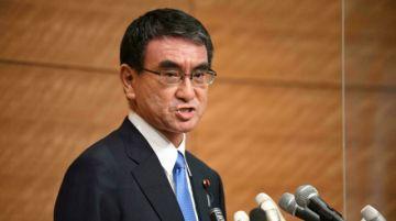 Jefe de campaña de vacunación en Japón entra en carrera por liderar partido en el poder