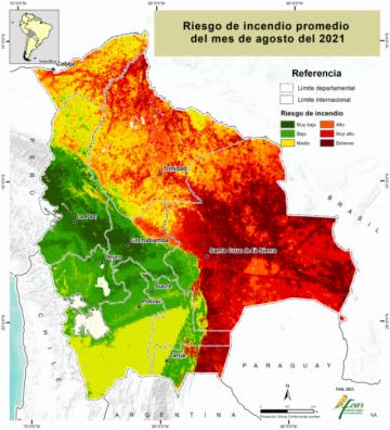 FAN cuantifica en 1,5 millones de hectáreas la superficie quemada por incendios en 8 meses