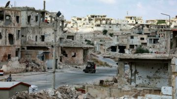 La ciudad siria de Deraa, casi totalmente bajo control del régimen