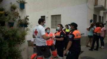 """El gran incendio en el sur de España está """"controlado"""""""