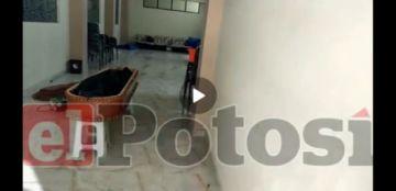Denuncian que retienen cadáver covid en la Ciudad Satélite