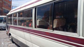 Algunos choferes ponen en riesgo la salud de los pasajeros