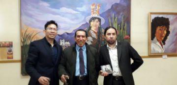 Familia Corso expone su arte mostrando la belleza de Potosí