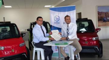 Quantum Motors recibe la primera batería de litio fabricada en Bolivia por YLB