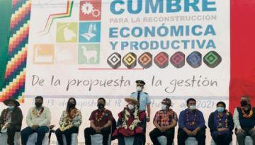 El viernes se realiza la cumbre de desarrollo productivo en Potosí