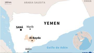 Reportan que hay al menos 50 muertos en combates en el centro de Yemen