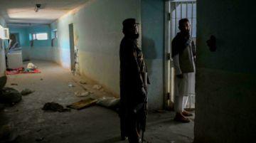 La mayor prisión de talibanes de Afganistán, un lugar vacío y abandonado