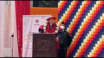 PIB de Potosí cayó en más del 15,5 % en 2020, según el presidente Arce