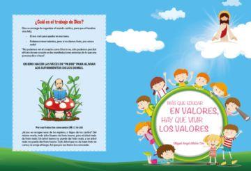 Miguel Albino presenta libro de educación en valores