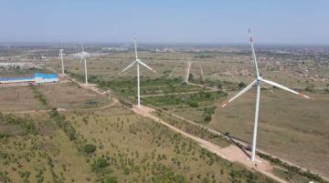 Inauguran el primer parque eólico de Santa Cruz que generará 14,4 MW de electricidad