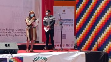 Potosí pide acelerar la industrialización del litio, en la cumbre de organizaciones