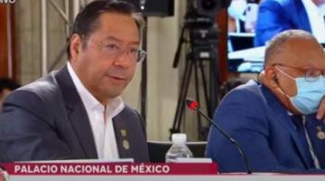 "Arce arremete contra la OEA, la califica de ""obsoleta e ineficaz"" y pide su cambio"