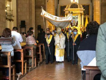 La procesión del Corpus Chico se vivióen Potosí