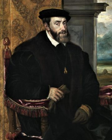 Se recuerda la muerte de Carlos V