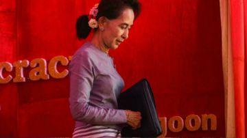 """La birmana Suu Kyi enfrenta un juicio por """"incitación a disturbios públicos"""""""