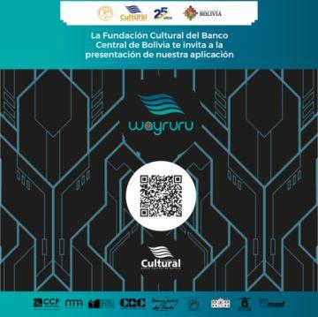 Fundación Cultural del BCB presenta aplicación Wayruru