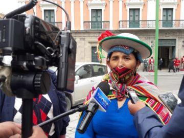 Lidia Patty cuestiona a Lima por quinto juicio contra Añez