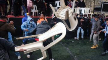 Cocaleros se enfrentan a golpes y silletazos; aparecen dos nuevos dirigentes de Adepcoca