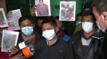 """Dirigentes condenan """"actos fascistas"""" de cocaleros seguidores de Evo que agredieron a Lluta"""