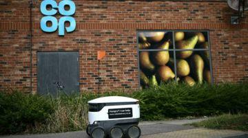 Los robots repartidores se multiplican en el Reino Unido con la pandemia