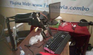Emisora yungueña denuncia robo en sus oficinas en el mercado de Adepcoca