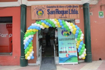 Cooperativa San Roque R.L. celebra cinco años en Potosí