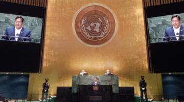 """Arce lleva discurso del """"golpe"""" a la ONU y responsabiliza a la OEA, UE y otros actores"""