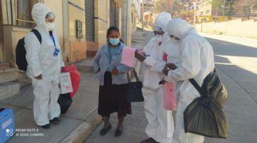 Alumnos de Enfermería realizan prácticas laborales presenciales