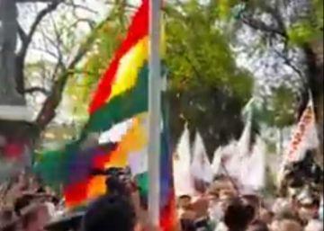 El Gobierno anuncia proceso por 'ultraje' a un símbolo patrio y discriminación en Santa Cruz