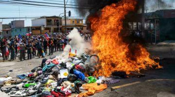 Fiscalía chilena ordena investigación por violenta protesta contra migrantes en Iquique