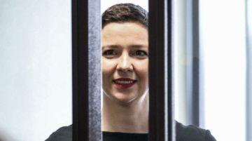 La opositora bielorrusa encarcelada María Kolésnikova, laureada con el premio Václav Havel