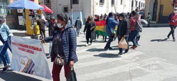 Estudiantes de Educación Alternativa piden recibir bono escolar de 500 Bolivianos