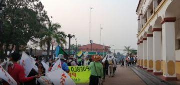 Marcha indígena no recibe respuesta del Gobierno y prevé el inicio del diálogo el lunes