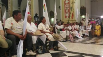 La marcha indígena llegó a Santa Cruz en medio de masivo y ovacionado recibimiento