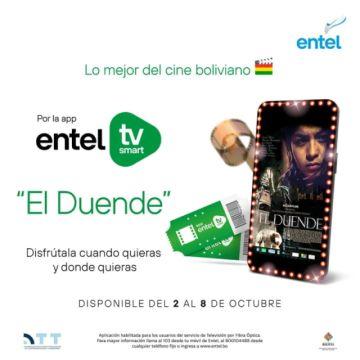 """La película """"El Duende"""" será emitida por Bolivia TV esta noche"""