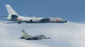 Taiwán acusa a China de redoblar la tensión con incursión récord de aviones militares
