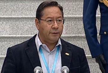 El presidente Arce promulga la ley de Registro de Comercio
